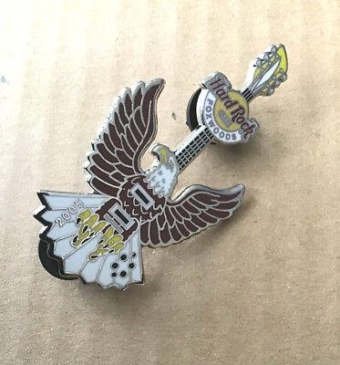 Bird Of Prey Guitar Pin, Hard Rock Cafe, Foxwoods, 2005