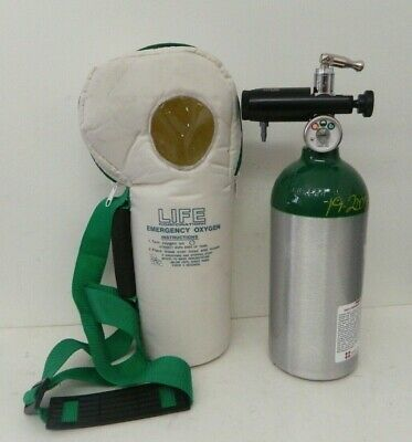 Life Corp Softpac Emergency Oxygen Unit 0 To 25 Lpm Model Life-2-025 2