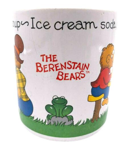 Berenstain Bears Vintage 1987 Coffee Mug Cold Milk Hot Soup Berenstein Cup