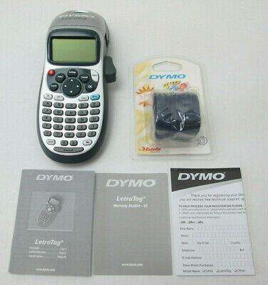 Dymo Letratag Plus Lt-100h Personal Label Maker With Extra Labels