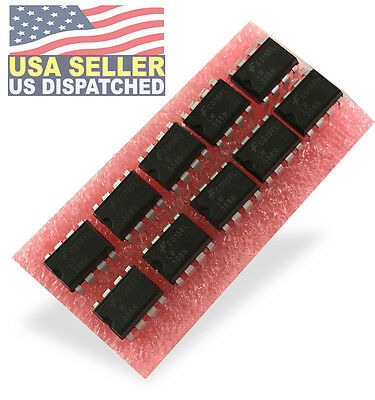 10 Pcs Fairchild Onsemi Lm358n Lm358 358 Low Power Dual Op-amp 8 Pin Dip Ic -