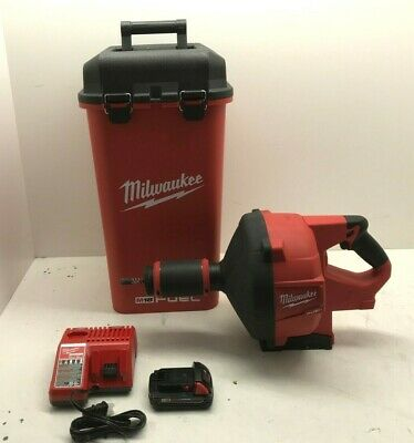 Milwaukee 2772a-21 M18 Fuel Drain Snake Cable Drive Locking Feed Kit Combo Vg