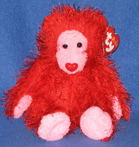 TY-PUNKIES-FLAME-the-BEAR-MINT-RETIRED
