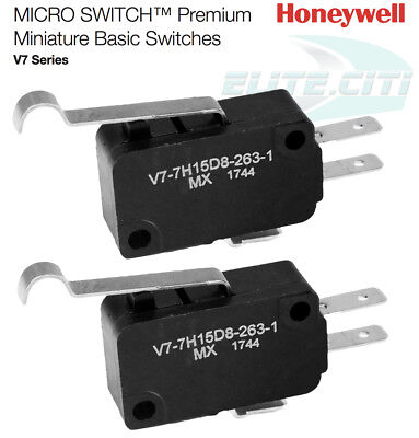 Pack Of 2 Club Car Golf Cart Part 3 Prong Micro Switch Replace Oem 1014807