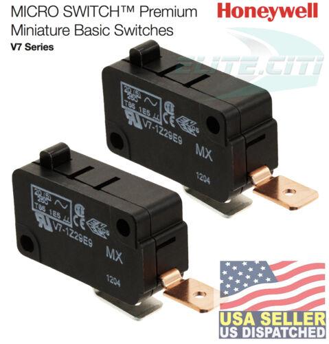 (2 PCS) Honeywell Basic / Snap Action Switch 25A @ 250VAC (1 piece) V7-1Z29E9