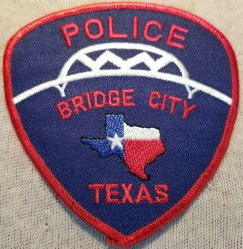 TX Bridge City Texas Police Patch