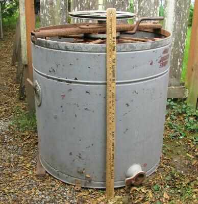 Antique Cowans Rapid Reversible Honey Extractor Four Deep Frames A.i. Root