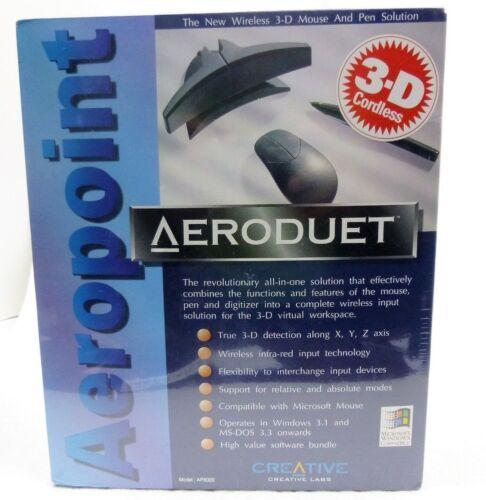 Rare - Vintage Creative Labs AeroPoint AeroDuet Wireless Pen AP8020 /New, Sealed
