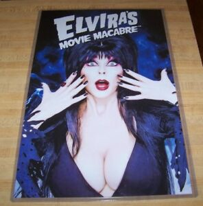 Elvira Mistress of the Dark 11X17 Movie Macabre Poster