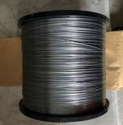 Round Stitching Wire 40 Lb Spool Of 23 Gauge Galvanized Bindery Stitcher