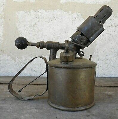 Vintage RARE Beanco Swedish Lamp Blow Torch Baxendale & Co Manchester ~ Sweden