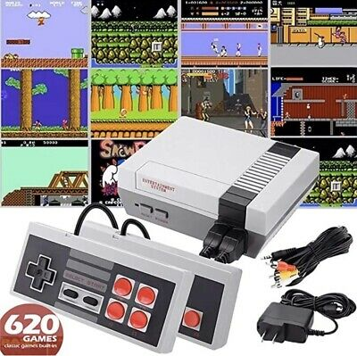 All In One Game Console 620 Games HDMI Wired Ready To Play System Play Game System