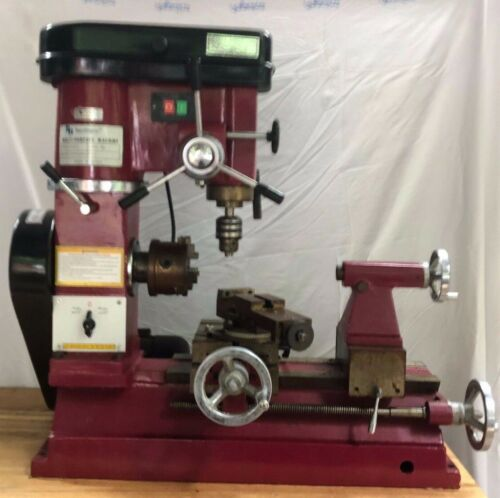 Northern Hydraulics multipurpose Machine (Lathe, driller and miller)