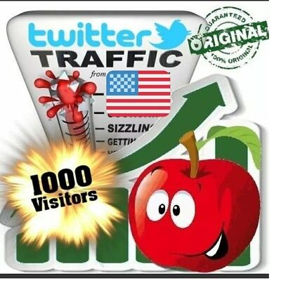 1000 twitter any website or affiliated link traffic