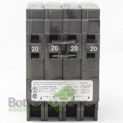 Siemens Q22020ct 120240v 2020 Amps 2 Pole Plug-in Molded Case Circuit Breaker
