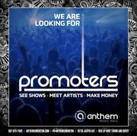 JOB OPPORTUNITY FOR OUTGOING, PARTY ORIENTED INDIVIDUALS
