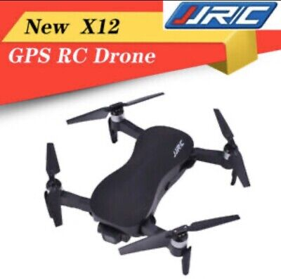 JJRC X12 5G WiFi 4K 1080P Foldable Drone 3 Axis Quadcopeter 1200M Sequestered Control