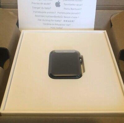 Apple Watch Series 3 Nike GPS 38mm Space Grey Aluminium Composite Back Face Only
