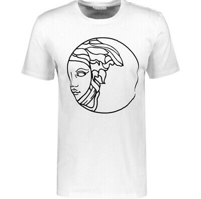 Versace Collection White Medusa Short Sleeve T Shirt Size S, L RRP £150 New