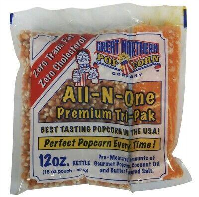 Great Northern Popcorn Case 23 12 Ounce Popcorn Portion Packs Cinema Kettle