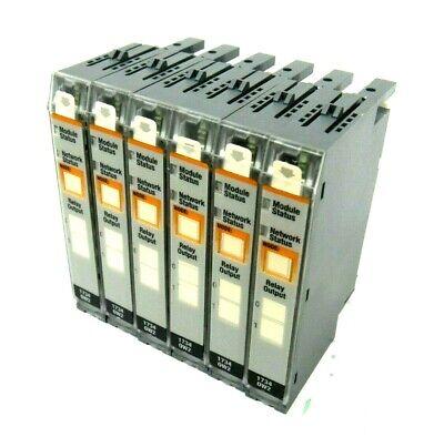 Used Lot Of 6 Allen Bradley 1734-0w2 Output Module Ser B 17340w2 96373672
