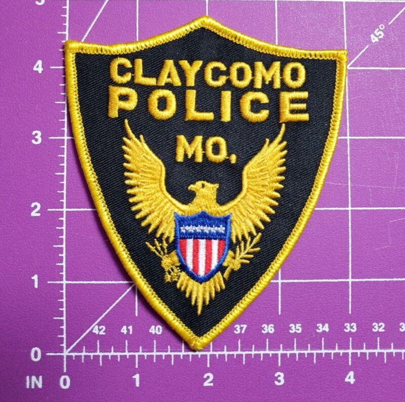 Claycomo Missouri Police-shoulder patch