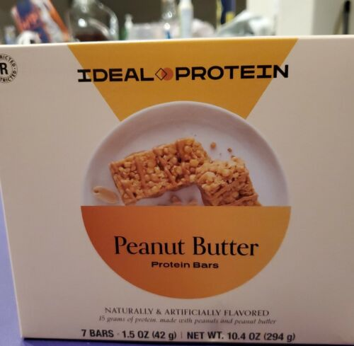 Ideal Protein Peanut Butter Protein Bars Bundle of 2 Boxes ⛟ SAME DAY SHIPPING