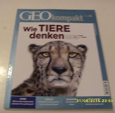 Geo Kompakt Nr. 33 - Wie Tiere denken mit dvd