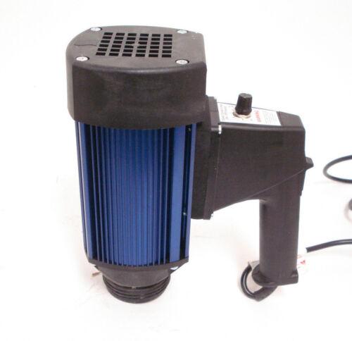 1DLK9 Drum Pump Motor -  1 HP  220 Volt  32 GPM TEFC Intermitent Duty