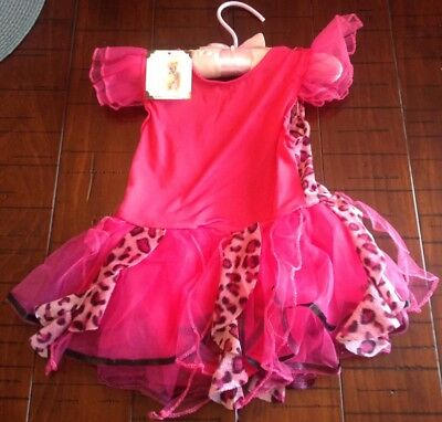 New Baby Girl's PRINCESS EXPRESSIONS Halloween Dance Leotard Costume 12-24 Month (24 Month Baby Halloween Costumes)