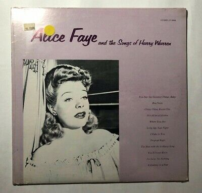 ALICE FAYE The Songs Of Harry Warren LP Citadel CT6004 US 1976 M SEALED -
