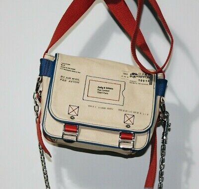 Brand-new Zadig & Voltaire Ready-Made Canvas Shoulder/Crossbody Bag