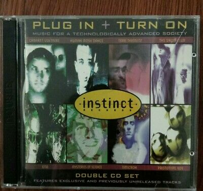 Plug In + Turn On by Various Artists 2 CD Cabaret Voltaire GTO for sale  New Rochelle