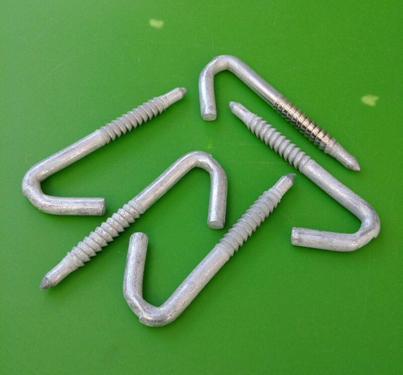 "7//16/"" Diameter Galvanized Steel 2 PCS J Drive Hooks for drop line"