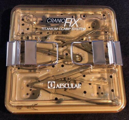 Aesculap CranioFix Titanium Clamp System, Orthopedic