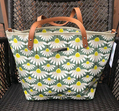Daisy Diaper - Petunia Pickle Bottom Diaper Bag NWT Downtown Tote Mistelbac Baby Unisex Daisy