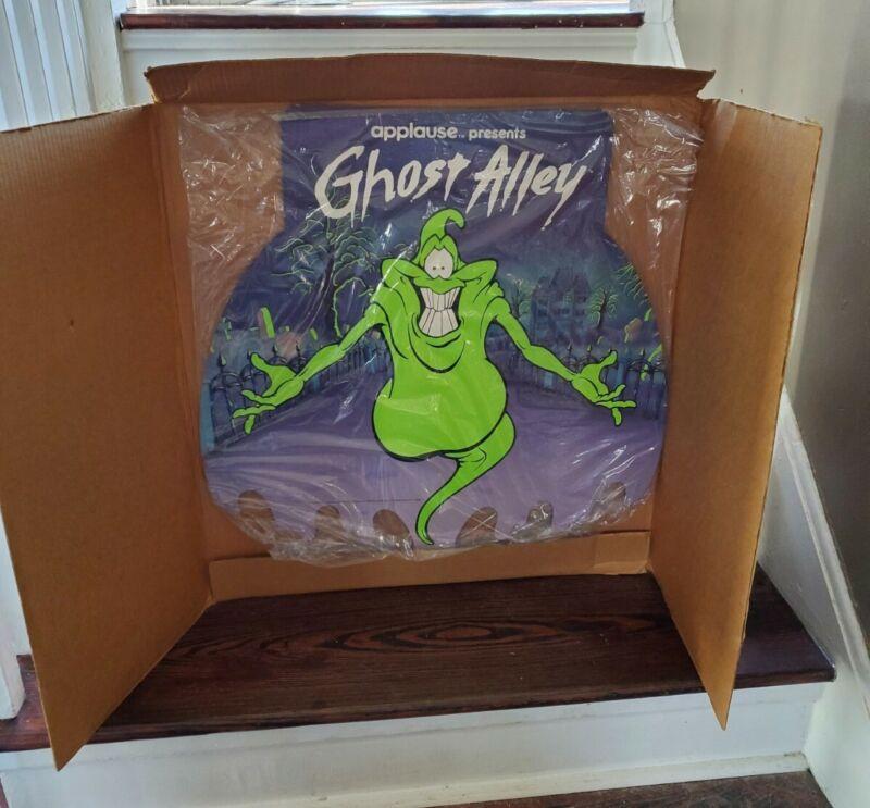 Vintage Monsters Ghost Alley KO Slimer Store Display Halloween 1989 Applause MiB