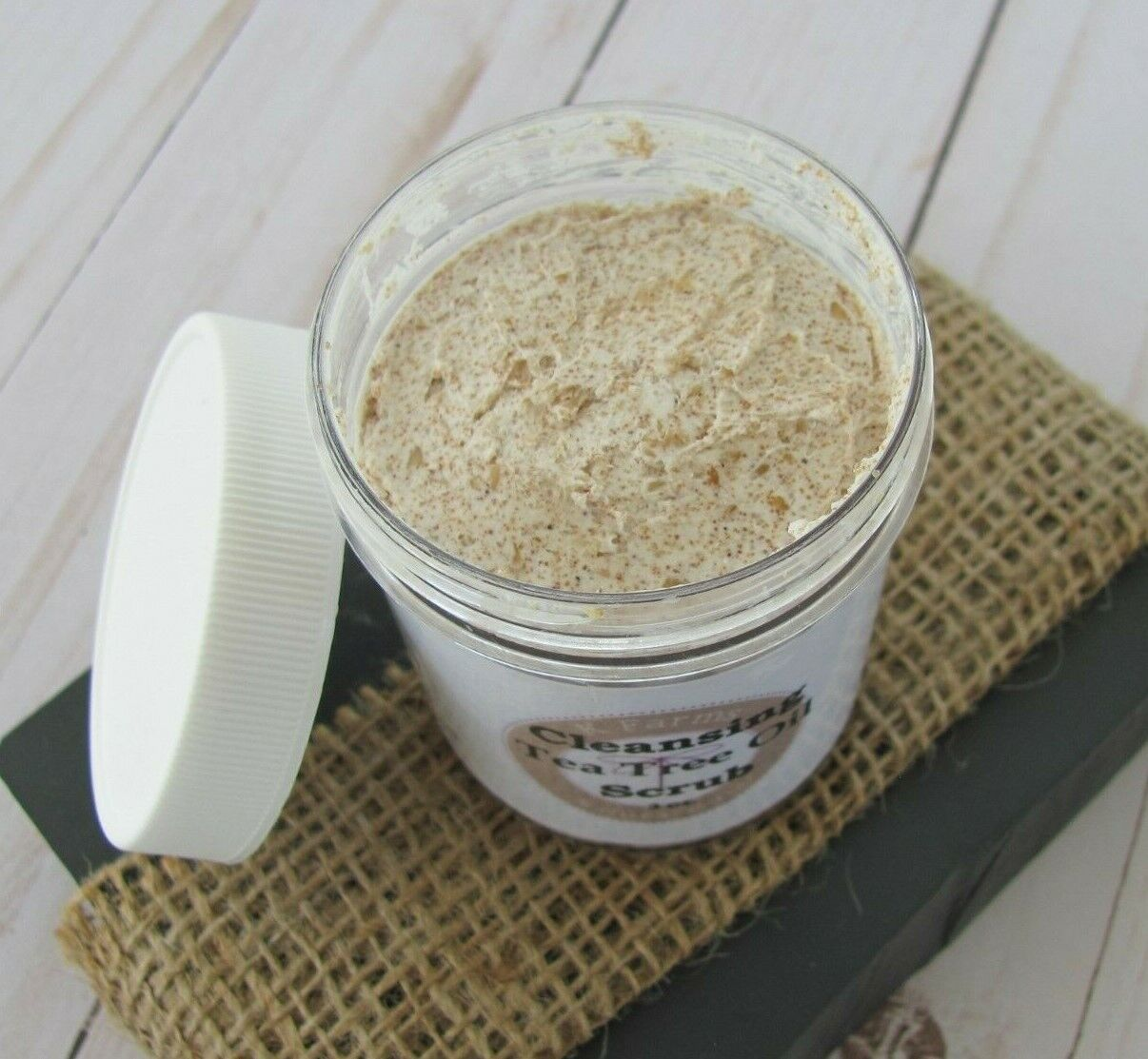 Exfoliating Face Scrub, 6 ounces, Microdermabrasion Cleanser