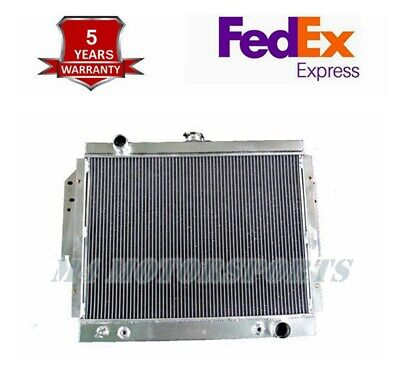 2 Row Radiator for 1979-1993Dodge D/W100/200/250/350 Ramcharger 5.2L 5.9L V8 Gas