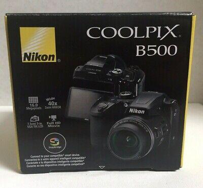 BRAND NEW NIKON COOLPIX B500 DIGITAL CAMERA-BLACK
