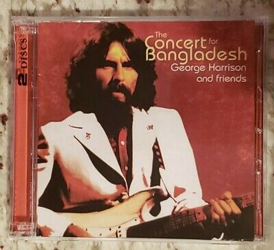 George Harrison The Concert For Bangladesh 2CD (RARE) w/36-pg booklet