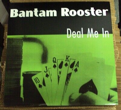 BANTAM ROOSTER Deal Me In LP late-90's garage-rock Crypt Choke Chains Dirtbombs