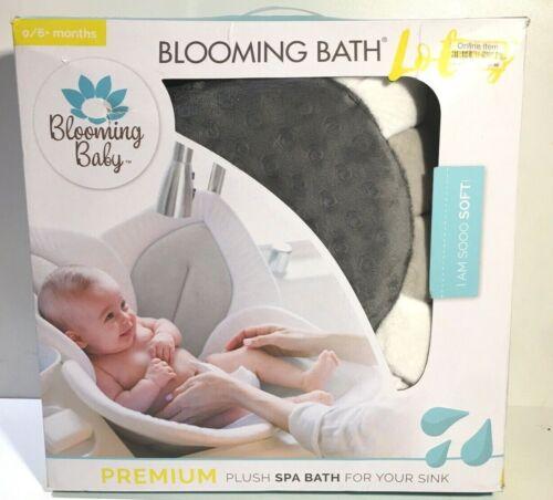 Blooming Bath Lotus Baby Bath, Bathing Mat, Flower Bath, Gray/Gray, GENUINE READ