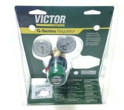 Victor 0781-4241 Oxygen Regulator G150-60-540r For Use With A Type Hoses
