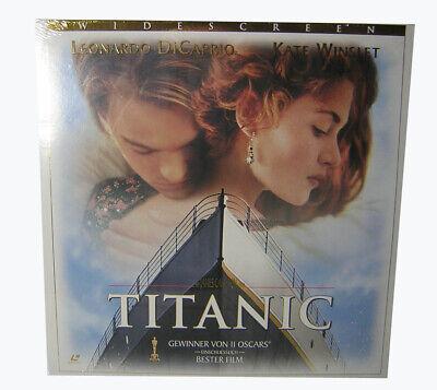 Laserdisc LD - TITANIC - Ein James Cameron Film - 2 Laserdiscs PAL NEU