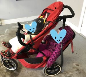 Phil's and ted DOUBLE STROLLER