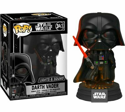 Funko Pop! Star Wars: DARTH VADER #343 - Lights & Sound QUICK SECURE SHIPPING !!