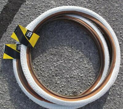GT Freestyle tires White BMX old school perfomer Dyno vertigo 20 x 1.75 PFT LP 5
