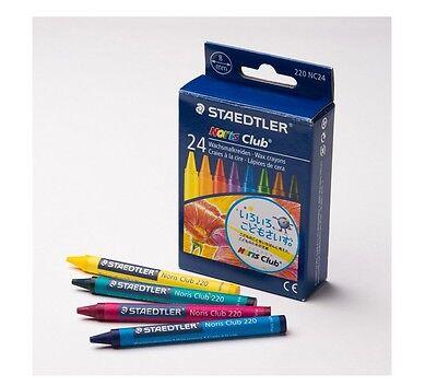 Staedtler 220 NC24 Noris Club Wax Crayon (Pack of 24)  …