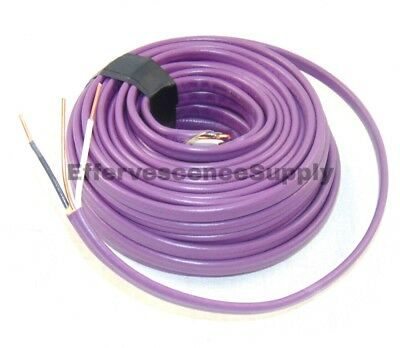 142 Wground Romex Indoor Electrical Wire 100 Feet 142 Purple Wire